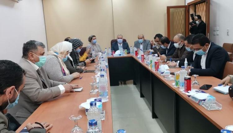 اجتماع الهيئة الوطنية للصحافة