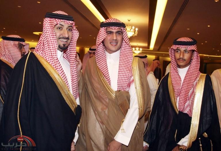 نائب أمير الرياض يشرف حفل زواج عضو شرف الهلال الأمير عبدالله بن