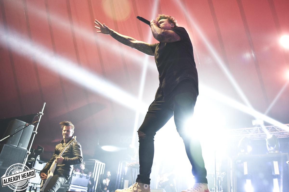 Reading Festival - Saturday - Papa Roach - 25/08/2018