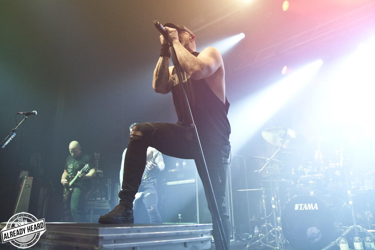 All That Remains - Electric Brixton, London - 2/12/2018