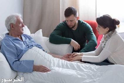 تفسير حلم الاب المتوفي وهو مريض في المنام