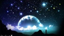 تفسير حلم القمر والنجوم في المنام