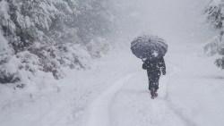 رؤية السقوط وقت العواصف بالشتاء