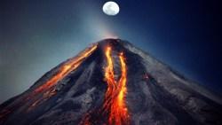 تفسير حلم البركان المشتعل بالنار
