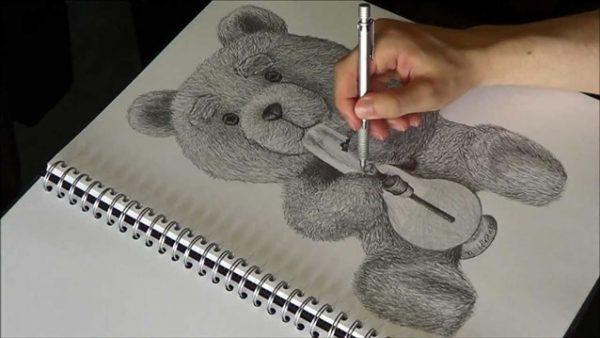 الرسم في الحلم