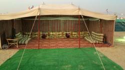 تفسير حلم رؤية الخيمة وبيت الشعر في المنام للعزباء والمتزوجة