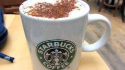 مشروب قهوة ستار باكس المثلجة