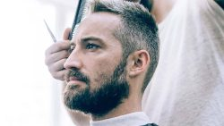موضة الشعر الأبيض للرجال