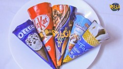 طريقة عمل ايس كريم سهل بالشوكولاتة
