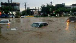 الفيضانات والتيارات في المنام