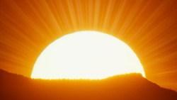 تفسير رؤية ضوء الشمس في حلم النابلسي؟