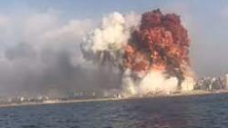 انفجار ضخم بميناء جبل علي في دبي