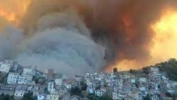 مقتل 25 جنديا جزائريا في حرائق ضخمة في تيزي