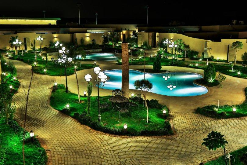 منتجعات في الرياض للعرسان