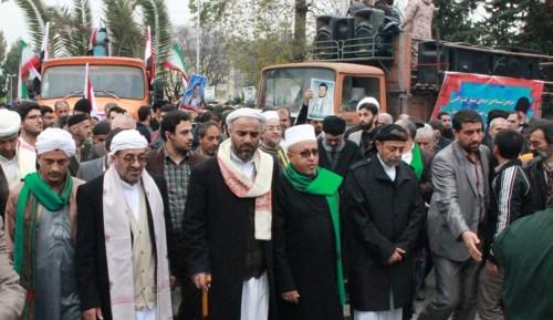 "تشييع حوثيين في إيران ""ارشيف"""