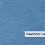 Bookkram – beklædning af bind metalfarve blå 601