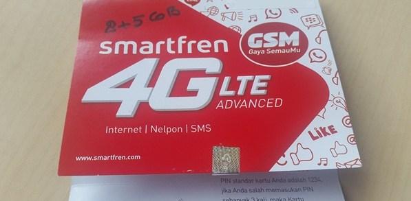 perdana baru smartfren 4g lte advanced gsm picture