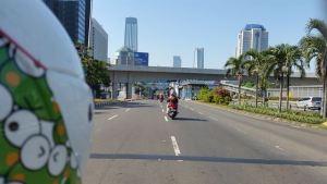 honda spacy 2011 di simpang susun semanggi jakarta