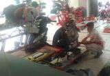 honda spacy karburator sedang service