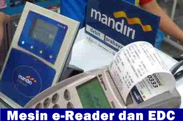 emoney reader dan edc