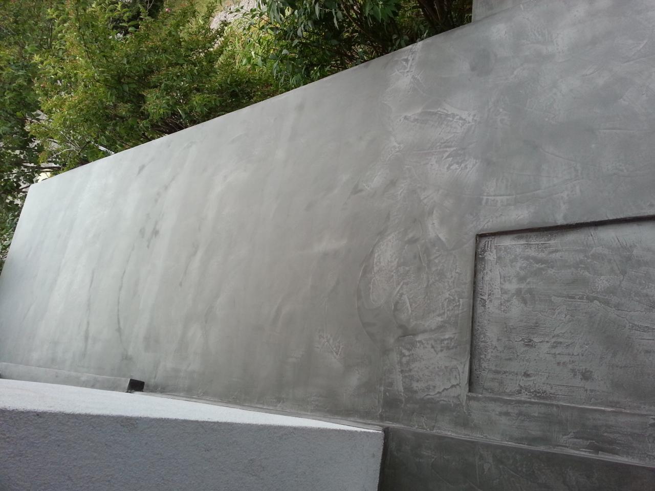 Terrasse Exterieur En Beton Cire