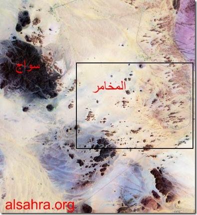 خريطة سواج والمخامر