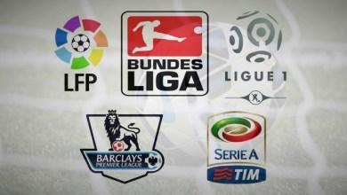 صورة جدول مباريات الدوريات الاوروبية-اليوم الأحد