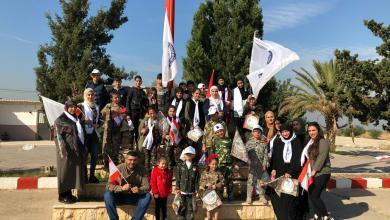 صورة معهد After school center نظم زيارة لثكنة الزهراني بمناسبة الإستقلال