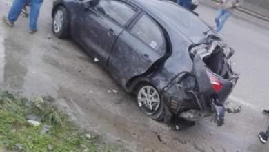 Photo of ثلاثة جرحى في حادث سير على اوتوستراد البيسارية الجنوبية