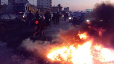 صورة أحوال الطرقات في لبنان