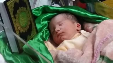 Photo of مولود اليوم: الطفلة ريحانة حيدر.