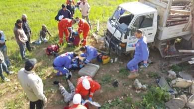 Photo of ٦ اصابات بحادث سير مروع في زبدين
