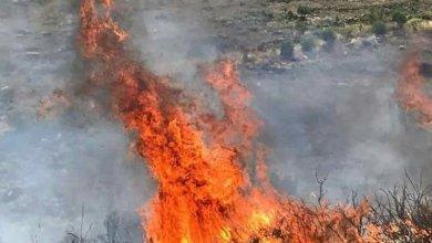 Photo of الحرائق تلتهم محيط  بلدة عبا