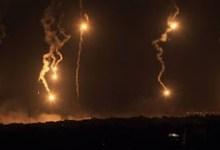 Photo of عاجل : تزامناً مع مقابلة السيد.. قنابل مضيئة على الشريط وطائرات تجسسية فوق الضاحية