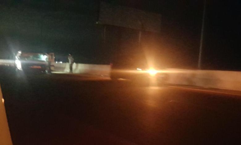 حادث سير مروع على اوتوستراد الخرايب