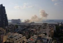 Photo of عاجل معلومات اولية : انفجار في بيروت