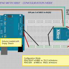 Usb Pinout Diagram Spider Parts Arduino Interfacing With Xbee | Alselectro
