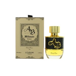 Lomani Ab Spirit Millionaire Black Rose 3.3 oz Eau De Parfum Spray for Women qatar