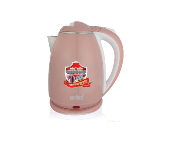 Sanford Stainless Steel Double Layer Electric Kettle, 1.8 L SF1880EK