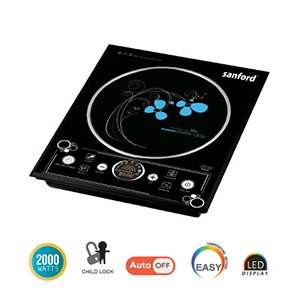 Sanford 2000 Watts Induction Cooker – Black SF5153IC BS