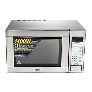 Sanford 1400W Microwave Oven - 28 Litre SF5633MO BS