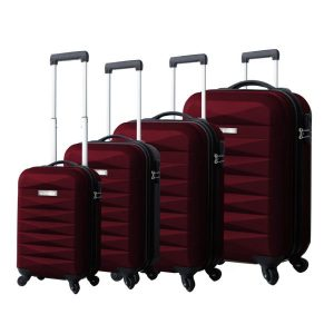 STARGOLD SG-T86D 4 PCS ABS TROLLEY CASE