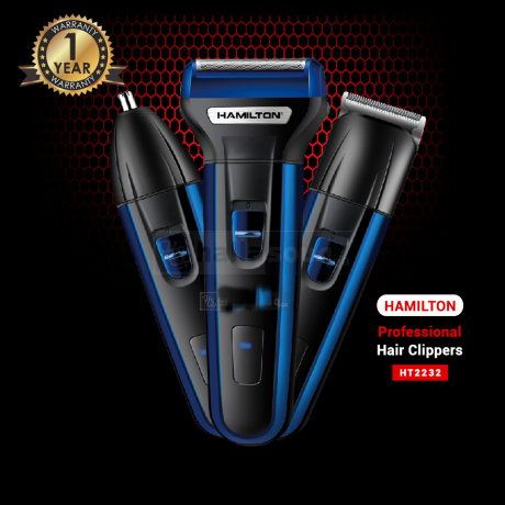 Hamilton Trimmer Professional Hair Clippers - HT2232