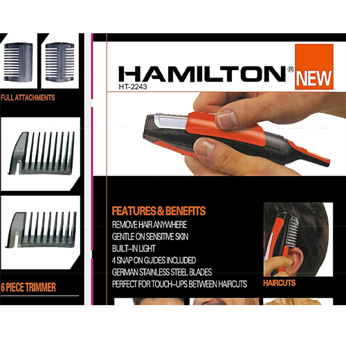 Hamilton Hair Trimmer HT-2243
