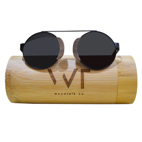 Wooden Sunset Sunglass For Women