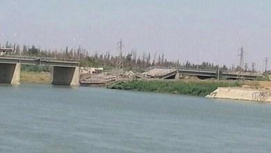 صورة بقطع جسر السياسية تكمل سياسة الحصار أواخر حلقاتها على ديرالزور