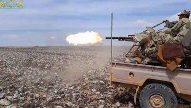 """صورة """"الأرض لنا"""" معركة جديدة أطلقتها الفصائل في البادية السورية ضد النظام وميليشياته"""