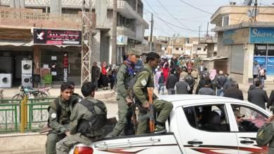 صورة الحسكة|| الميليشيات الكردية تُعزي ذوي قتلى النظام في القامشلي