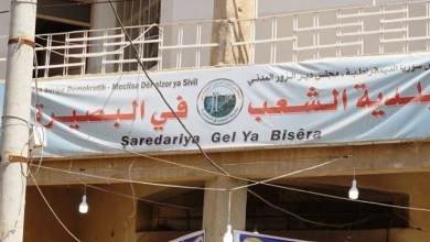 صورة بتهديد السلاح، داعش يُغلق مبنى بلدية البصيرة بريف ديرالزور