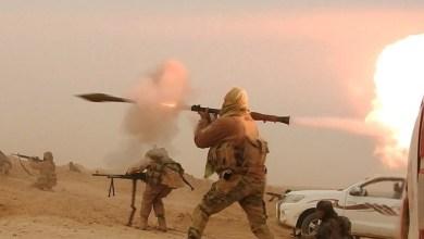 صورة بالقذائف.. خلايا لتنظيم داعش تستهدف مطار ديرالزور العسكري
